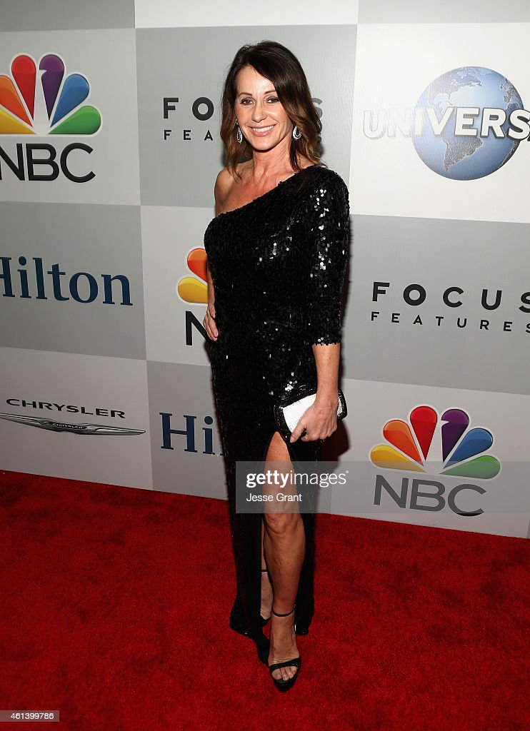 Gymnast Nadia Comaneci attends Universal, NBC, Focus Features and E! Entertainment 2015 Golden Globe Awards After Party sponsored by Chrysler and Hilton at The Beverly Hilton Hotel on January 11, 2015 in Beverly Hills, California.