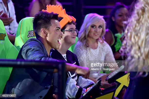 Gymnast Nastia Liukin attends Nickelodeon Kids' Choice Sports Awards 2014 at UCLA's Pauley Pavilion on July 17 2014 in Los Angeles California