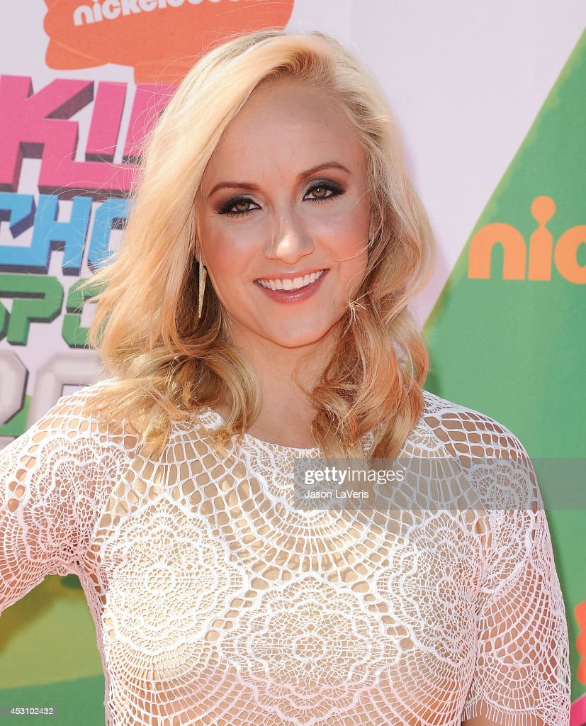 Gymnast Nastia Liukin attends the 2014 Nickelodeon Kids' Choice Sports Awards at Pauley Pavilion on July 17, 2014 in Los Angeles, California.
