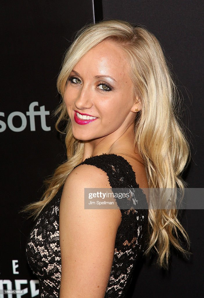Gymnast Nastia Liukin attends the 'Star Trek Into Darkness' screening at AMC Loews Lincoln Square on May 9, 2013 in New York City.
