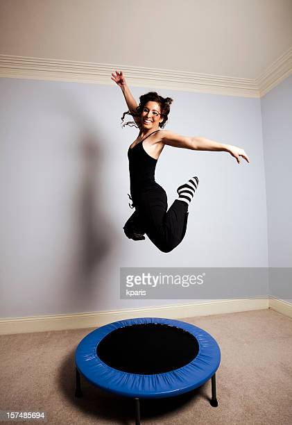 Gymnast on Trampoline