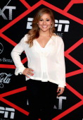Gymnast Shawn Johnson attends ESPN The Magazine's 'NEXT' Event at Tad Gormley Stadium on February 1 2013 in New Orleans Louisiana