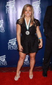 Gymnast Shawn Johnson attends the 28th Annual Great Sports Legends Dinner at The Waldorf=Astoria on September 30 2013 in New York City