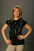 Gymnast Shawn Johnson poses for a portrait during the 2008 US Olympic Team Media Summitt at the Palmer House Hilton on April 14 2008 in Chicago...
