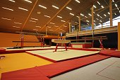 Gymnastic equipment from the gymnastic club Støkk in the Faroe Islands