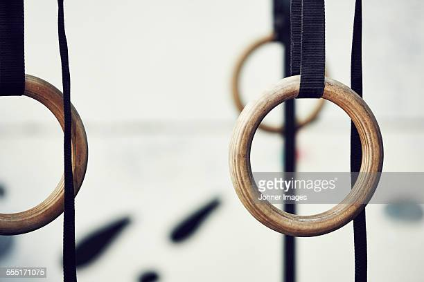 Gymnastic rings in gym