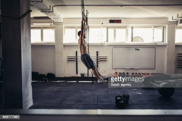 Gymnastic rings training