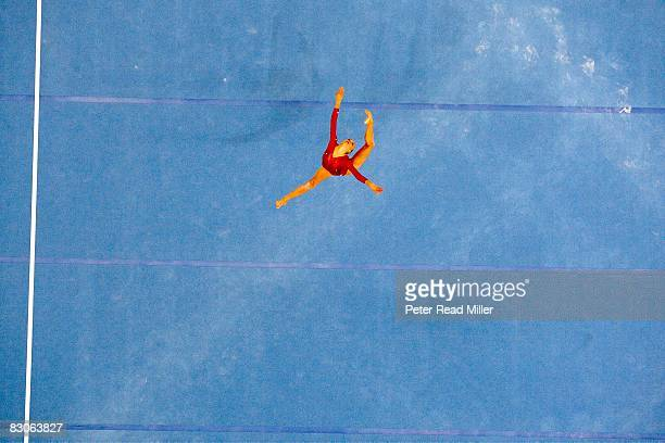 2008 Summer Olympics USA Nastia Liukin in action during Women's Floor Exercise Final at National Indoor Stadium Beijing China 8/17/2008 CREDIT Peter...