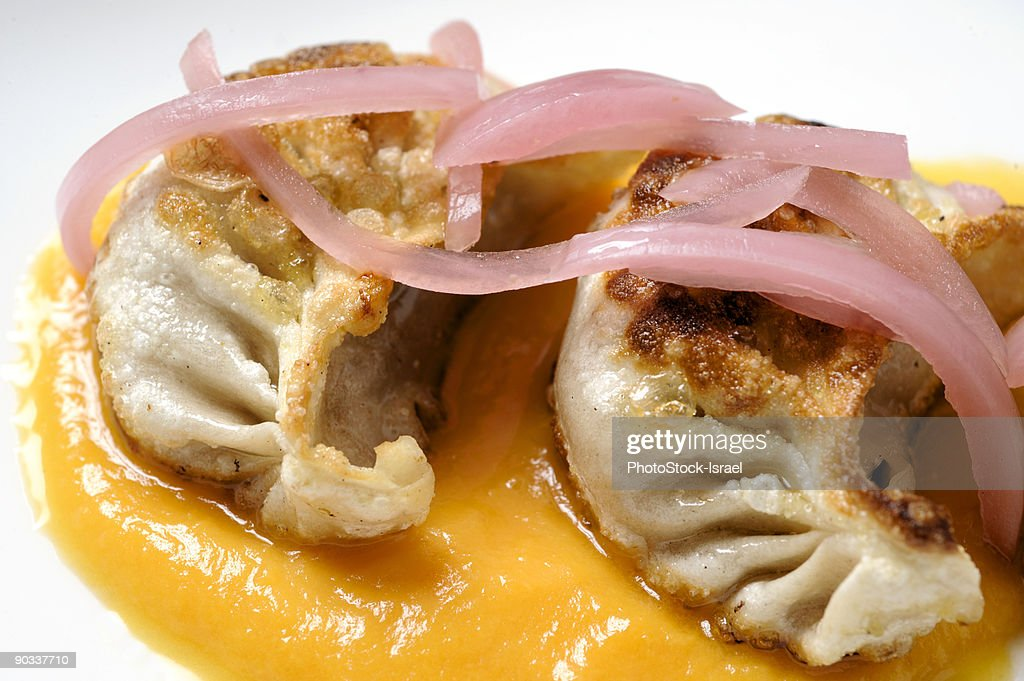 Gyoza Dumplings : Stock Photo