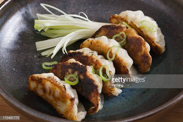 Gyoza or Potstickers  Close-up