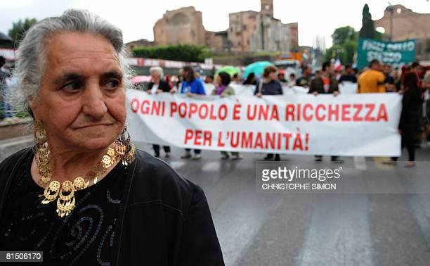 Gypsies protest against the discrimination of their community on June 8 2008 in Rome Romanian gypsies have aroused widespread anger among Italians...