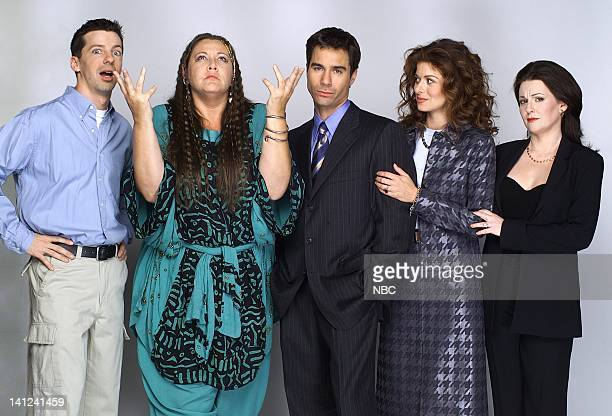 WILL GRACE 'Gypsies Tramps and Weed' Episode 7 Pictured Sean Hayes as Jack McFarland Camryn Manheim as Psychic Sue Eric McCormack as Will Truman...