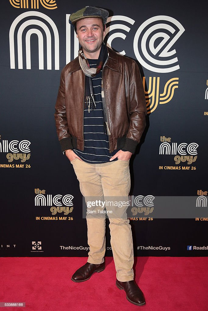 Gyton Grantley arrives ahead of The Nice Guys Melbourne Premiere at Event Cinemas George Street on May 24, 2016 in Sydney, Australia.