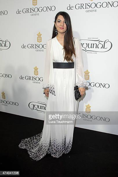 Gyunel attends the De Grisogono Party at the 67th Annual Cannes Film Festival on May May 19 2015 in Cap d'Antibes France