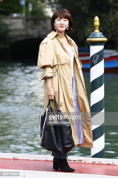 Ha Jiwon is seen during the 74th Venice Film Festival on September 7 2017 in Venice Italy