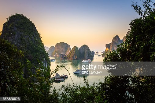 Ha Long Bay Top View from Sung Sot Cave