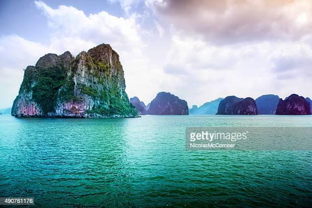 Ha long Bay Vietnam Island landscape