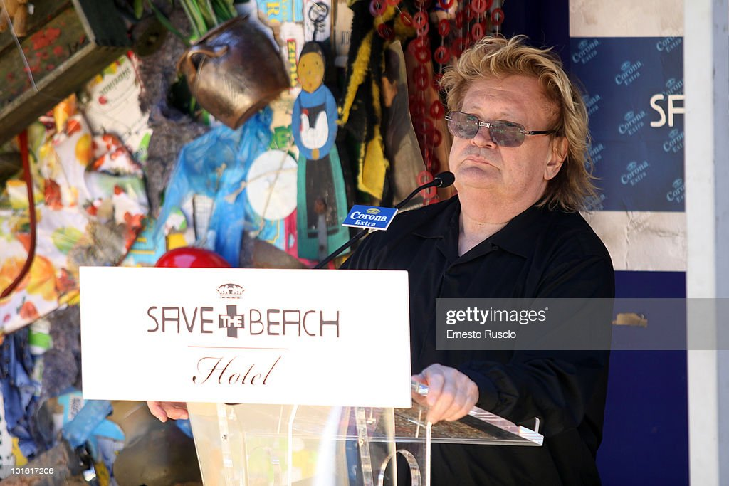 Ha Schult attends the 'Save the Beach' at Castel Sant' Angelo on June 4, 2010 in Rome, Italy.