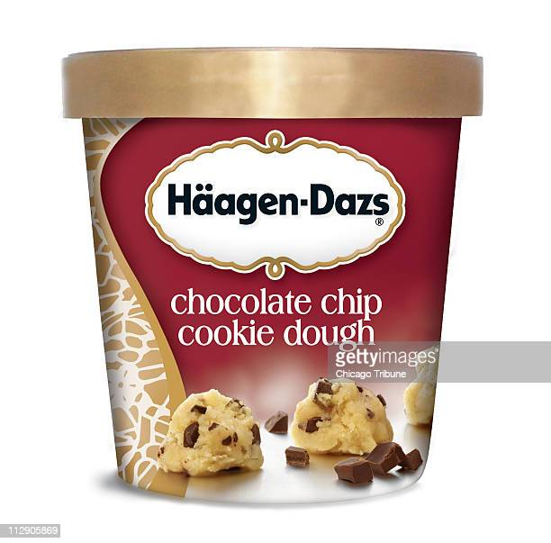 HaagenDazs Chocolate Chip Cookie Dough ice cream is one of the top popular brands