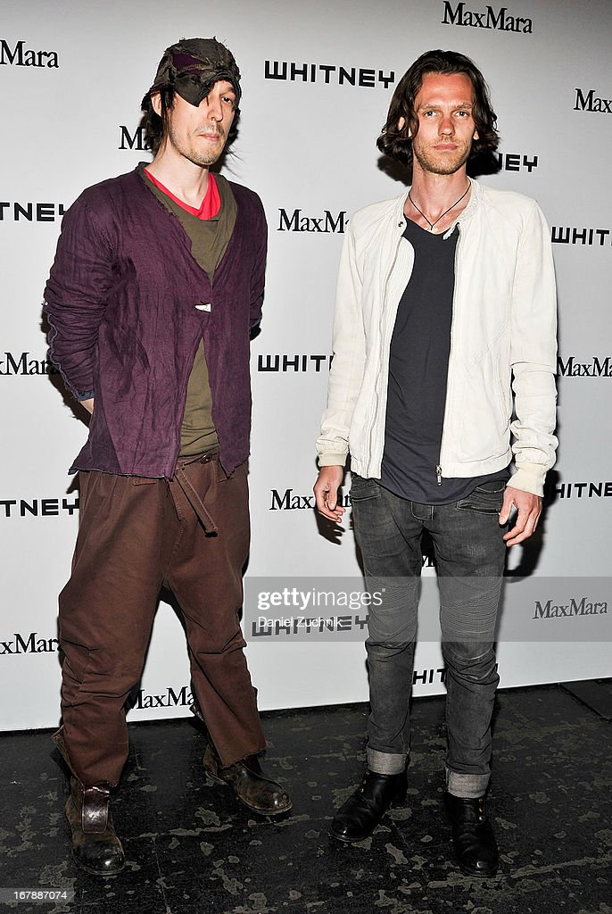 Haans Nicholas Mott and Slater Bradley attend the 2013 Whitney Art Party at Skylight at Moynihan Station on May 1, 2013 in New York City.