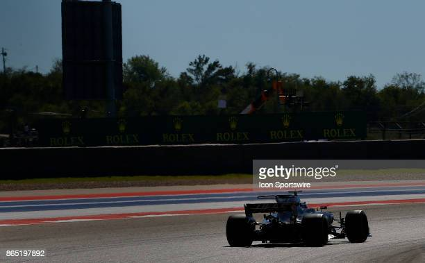 Haas driver Kevin Magnussen of Denmark during the United States Grand Prix on October 22 at the Circuit of The Americas in Austin TX