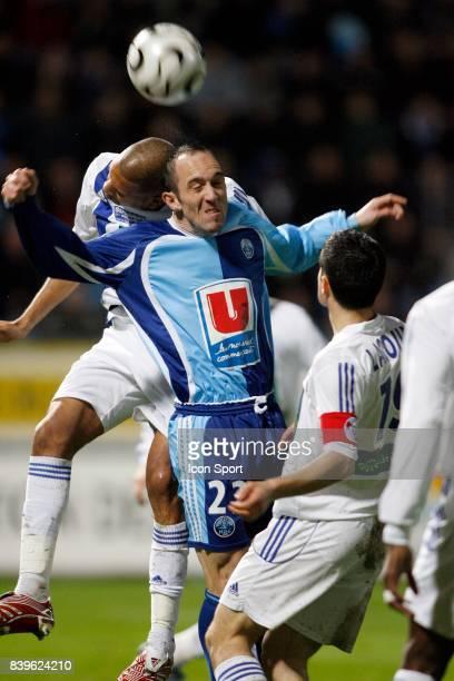 Habib BELLAID / JeanMichel LESAGE Le Havre / Strasbourg 27eme Journee de Ligue 2