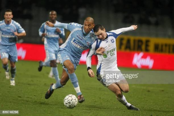 Habib BELLAID / Kevin LEJEUNE Auxerre / Strasbourg 21eme journee de Ligue 1