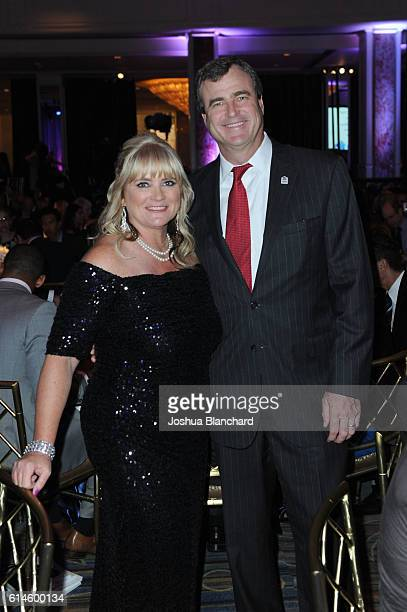 Habitat Los Angeles President Erin Rank and Chairman William Blake attend the Habitat LA 2016 Los Angeles Builders Ball at Regent Beverly Wilshire...