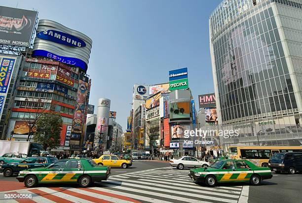 Hachiko Crossing at Shibuya Station