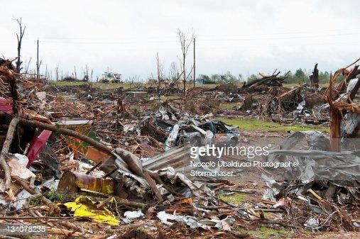 Ef5 Tornado Damage Before And After Hackleburg Alab...