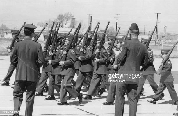 APR 19 1969 APR 20 1969 'Hadda Good Home But Ya left This looks like a demonstration in how NOT to win an ROTC precision 1 drill contest but maybe...