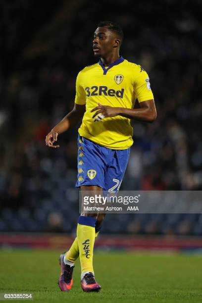 Hadi Sacko of Leeds United during the Sky Bet Championship match between Blackburn Rovers and Leeds United at Ewood Park on February 1 2017 in...