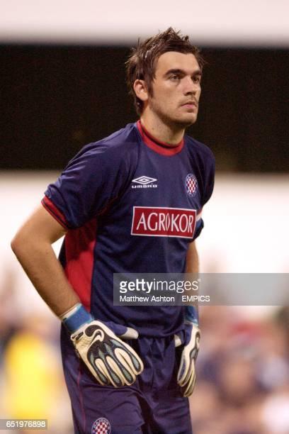 Hadjuk Split's goalkeeper Stipe Pletikosa