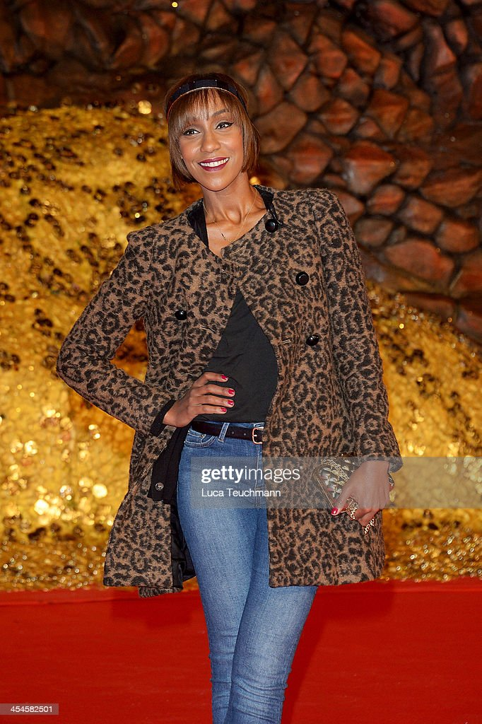 Hadnet Tesfai attends the German premiere of the film 'The Hobbit: The Desolation Of Smaug' (Der Hobbit: Smaugs Einoede) at Sony Centre on December 9, 2013 in Berlin, Germany.