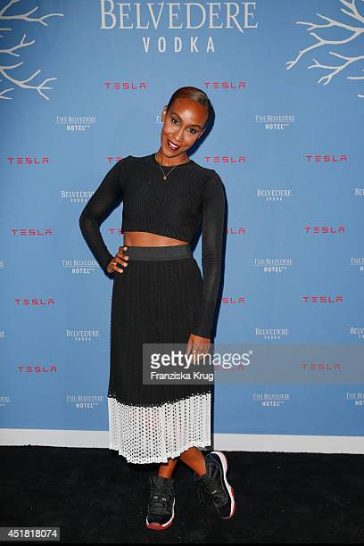 Hadnet Tesfai attends the The Belvedere Hotel By Q Opening Event on July 07 2014 in Berlin Germany