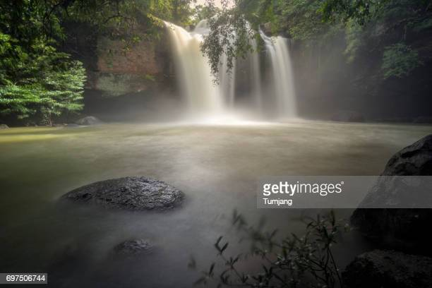 Haew Suwat Waterfalls Khao Yai National Park,Nakhon Ratchasima,Thailand