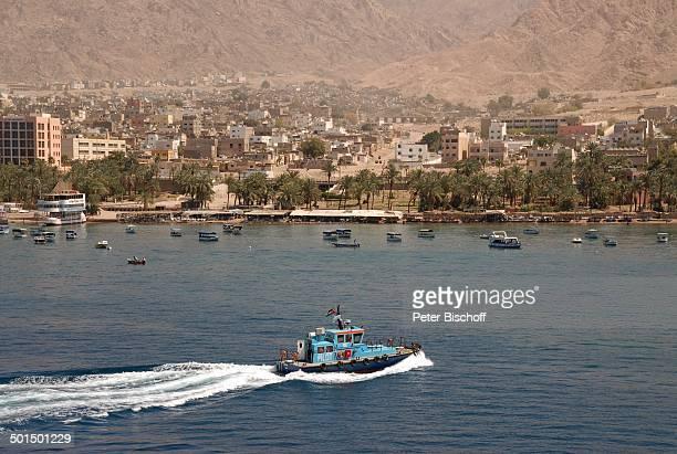 Hafen Aqaba Jordanien Naher Osten Boot Reise BB DIG PNr 604/2008
