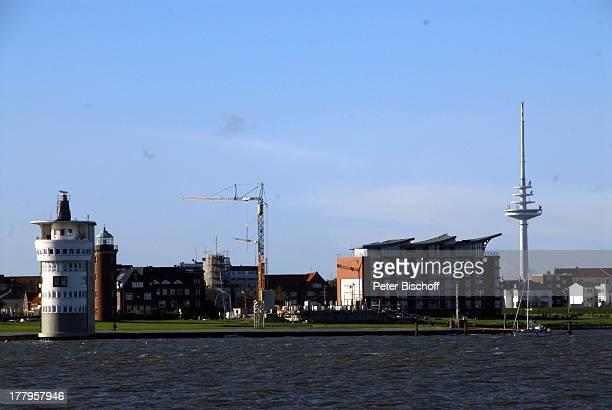 Hafen Cuxhaven Niedersachsen Deutschland Europa Nordsee Reise