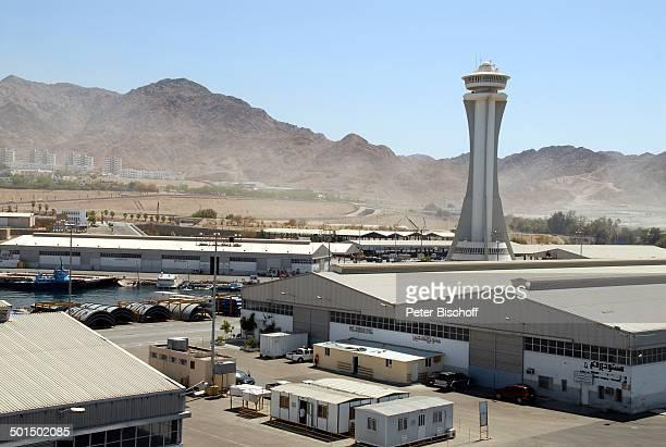Hafengelände Aqaba Jordanien Naher Osten Reise BB DIG PNr 604/2008