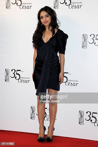 Hafsia Herzi attends the 35th Cesar Film Awards at the Theatre du Chatelet on February 27 2010 in Paris France