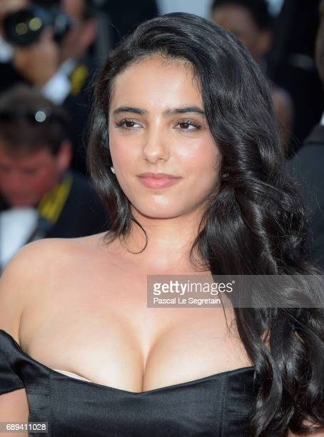 Hafsia Herzi attends the Closing Ceremony during the 70th annual Cannes Film Festival at Palais des Festivals on May 28 2017 in Cannes France