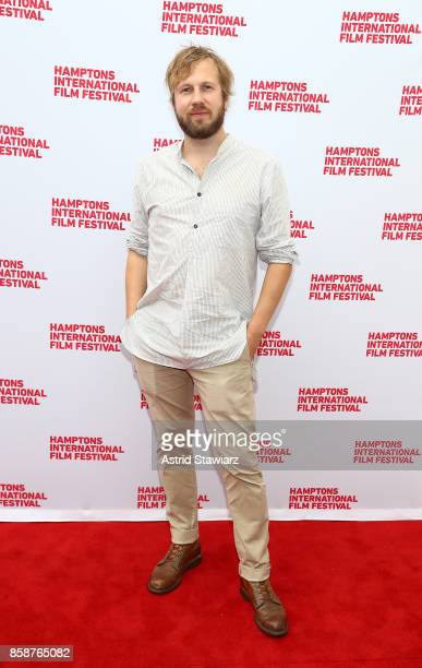 Hafsteinn Gunnar Sigurdsson attends a photocall for 'Under the Tree' during Hamptons International Film Festival 2017 Day Three on October 7 2017 in...