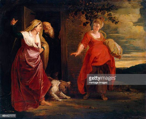 'Hagar Leaves the House of Abraham' c1615 Rubens Pieter Paul Found in the collection of the State Hermitage St Petersburg