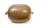 Haggis isolated on a white background