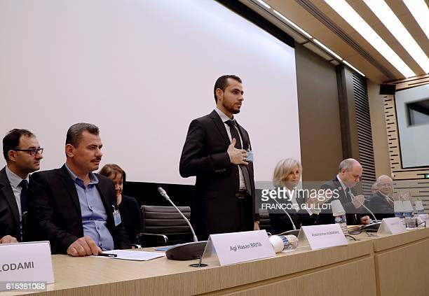 Hagi Hasan Brita president of the civil committee of Aleppo Abdulrahman Almawwas vicepresident of the Syrian White Helmets and former minister...