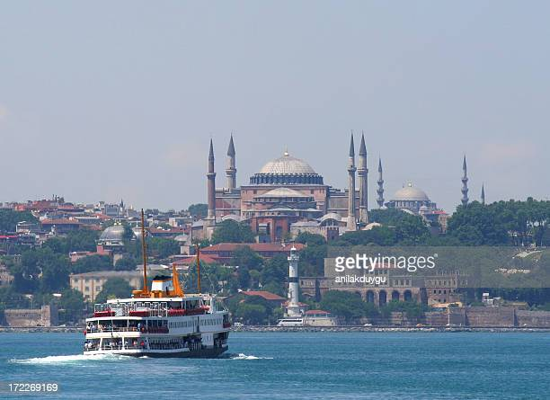 Hagia Sophia  and ferry - 2