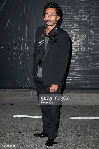 Haider Ackermann arrives at Vogue 95th Anniversary Party as part of the Paris Fashion Week Womenswear Spring/Summer 2016 on October 3 2015 in Paris...