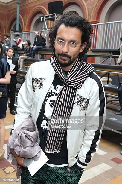 Haider Ackermann attend the Lanvin show as part of the Paris Fashion Week Menswear Spring/Summer 2015 on June 29 2014 in Paris France