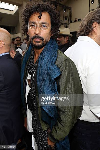 Haider Ackermann attends the Dior Homme show as part of the Paris Fashion Week Menswear Spring/Summer 2015 on June 28 2014 in Paris France
