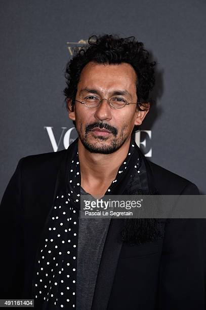 Haider Ackermann attends the Vogue 95th Anniversary Party on October 3 2015 in Paris France